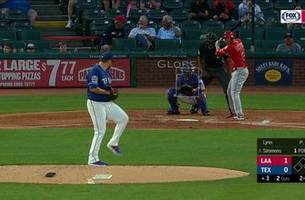 HIGHLIGHTS: Angels trail Rangers 5-4