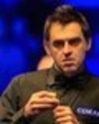who ronnie o'sullivan is poised to meet in draw if he's to win world snooker championship?