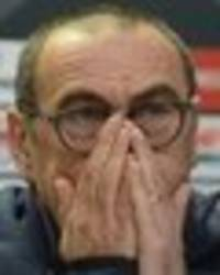you won't believe why maurizio sarri was forced to miss chelsea press conference