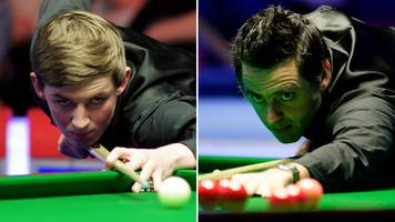 world number one o'sullivan draws amateur cahill at crucible