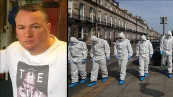 Murdered Trainspotting actor's family at home during shooting