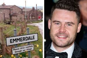 emmerdale's aaron dingle 'facing calls to be sacked' over foul-mouthed soap awards rant on instagram