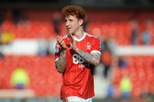 jack colback could say farewell to nottingham forest at sheffield united on good friday