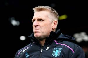 this is the striker dean smith wants if aston villa are promoted - reports