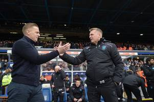 garry monk reveals birmingham city's stance amid 'fury' at aston villa and derby county