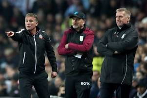 'premier league quality' bolton wanderers manager has his say on aston villa's promotion hopes