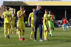 there is a good feeling and a real buzz around the place at the minute - every word of cheltenham town manager michael duff's interview ahead of oldham athletic at home