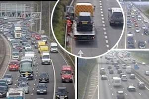 m5 traffic: live updates on m5, a303, m4 and a31 delays as easter getaway begins