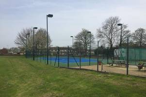 yeovil tennis club court is 'being used as dog pen and toilet' by travellers, according to club member