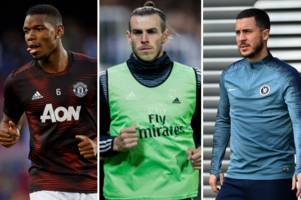 man utd transfer target gareth bale 'sent clear message' as real madrid line up paul pogba and chelsea's eden hazard