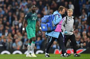 janssen, sissoko, winks - latest spurs injury news & expected return dates ahead of man city game