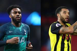 tottenham's danny rose and watford captain troy deeney lead campaign against racism in football