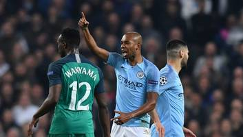 fernandinho gives blunt x-rated assessment of var after man city's ucl exit to tottenham
