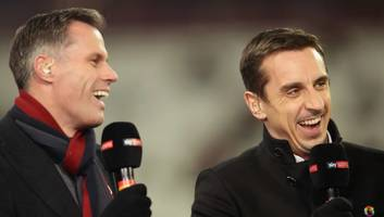 Gary Neville Tweets Joking Request for Tottenham Players to 'Take a Rest' Against Man City