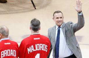 yzmerman named red wings gm; holland promoted to senior vp