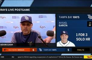 kevin cash breaks down extra-innings loss, previews tomorrow's series opener vs. red sox