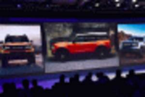 ford bronco scout name trademarked: is it the baby bronco?