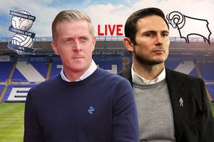 birmingham city v derby county live - build-up and team news ahead of championship clash