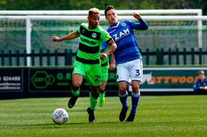 forest green rovers keep automatic promotion hopes alive thanks to junior mondal's stunning winner at tranmere rovers