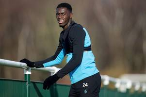 aston villa sweating over the fitness of man united loanee axel tuanzebe after latest injury