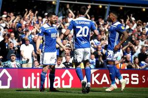 'worked like a trojan' the birmingham city player ratings in derby draw