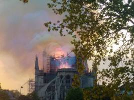 notre dame firefighters' lives saved by robot called 'colossus', fire chief says