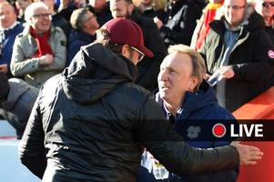 cardiff city press conference live: neil warnock on huge liverpool clash as relegation battle heats up