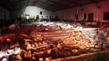 South Africa hit by deadly Easter church collapse
