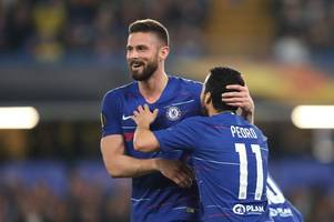 maurizio sarri confirms chelsea's stance over olivier giroud's future