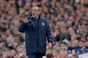 maurizio sarri on how he will solve chelsea's second half problems after slavia prague collapse