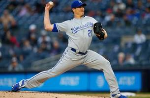 bailey, bullpen hold yankees to four hits in 6-1 royals win
