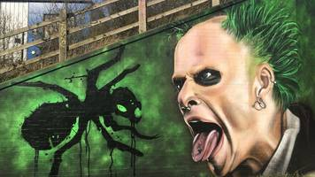 prodigy's keith flint peterborough mural print collected