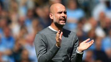 manchester city 1-0 tottenham: pep guardiola says his team 'give absolutely everything'