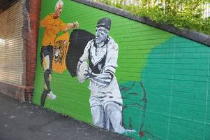 Hull FC fans 'disgusted' as former star's mural vandalised hours after Hull KR victory