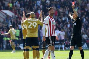 'it seems clear' - nottingham forest defender yohan benalouane reacts to red card at sheffield united