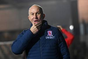 middlesbrough facing defensive crisis ahead of crunch easter monday clash at nottingham forest