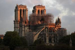 'the fact that notre dame will rise again is a pretty inspiring thought, especially at easter'
