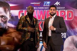 what time is the amir khan fight? how you can stream his showdown with terrence crawford online