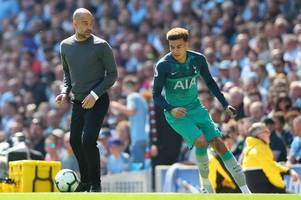 man city boss pep guardiola makes top four prediction that tottenham fans will love