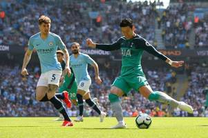 spurs player ratings vs man city: son excellent & sanchez impressive as dier struggles in defeat