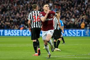 West Ham's Declan Rice nominated for PFA award alongside Man City duo & Liverpool star