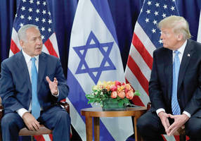 french envoy: trump peace plan close to israeli position, doomed to fail