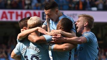 foden goal sinks tottenham as man city go top