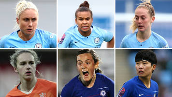 man city women dominate pfa award nominees list