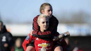 man utd women seal fa women's championship title with emphatic 7-0 victory over crystal palace