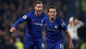 pedro insists eden hazard is 'totally dedicated to chelsea' but admits future remains unclear