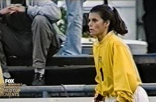 47th Most Memorable Women's World Cup Moment: Mia Hamm the Goalie