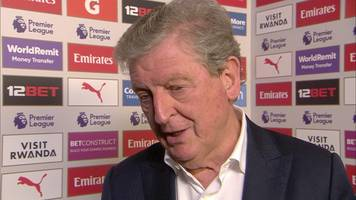 Arsenal 2-3 Crystal Palace: Roy Hodgson delighted with Palace performance