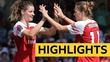 Highlights: Arsenal Women beat Everton Ladies to edge closer to WSL title