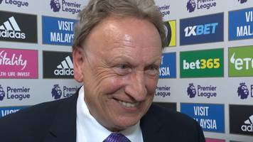 Cardiff 0-2 Liverpool: Neil Warnock can't fault his players after they gave everything